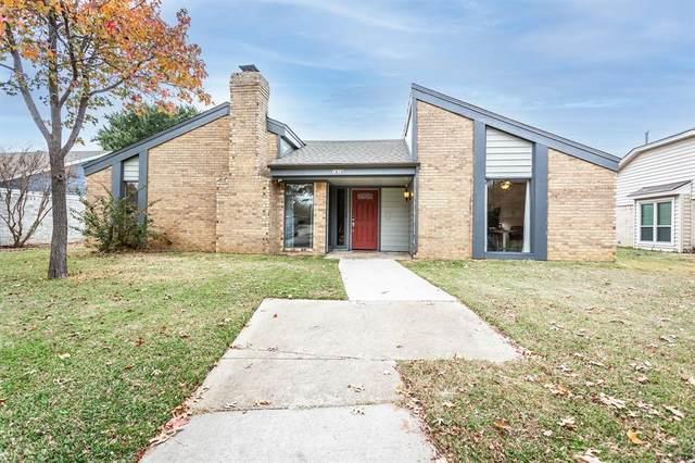 1619 Rocky Point Drive, Lewisville, TX 75077 (MLS #14481493) :: Frankie Arthur Real Estate