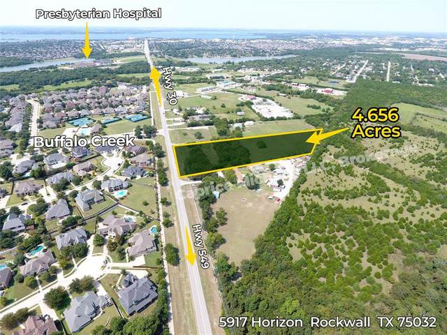 5917 Horizon, Rockwall, TX 75032 (MLS #14481642) :: All Cities USA Realty