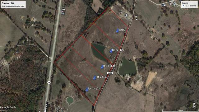 Tract 5 County Road 1107, Canton, TX 75103 (MLS #14481749) :: All Cities USA Realty