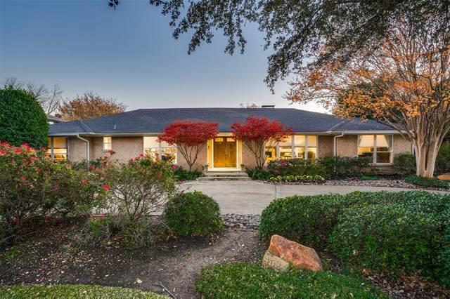 4624 Willow Lane, Dallas, TX 75244 (MLS #14484001) :: The Property Guys