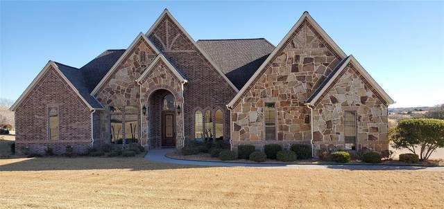 169 Pinnacle Peak Lane, Weatherford, TX 76087 (MLS #14484368) :: The Daniel Team