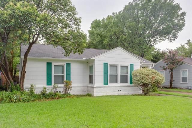 4024 Boyd Avenue, Fort Worth, TX 76109 (MLS #14484712) :: The Mauelshagen Group