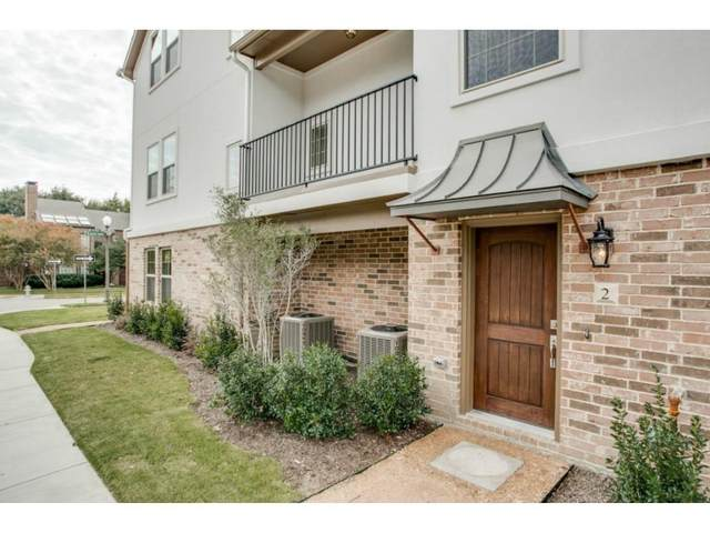 4100 Emerson Avenue #2, Dallas, TX 75205 (MLS #14485738) :: The Juli Black Team
