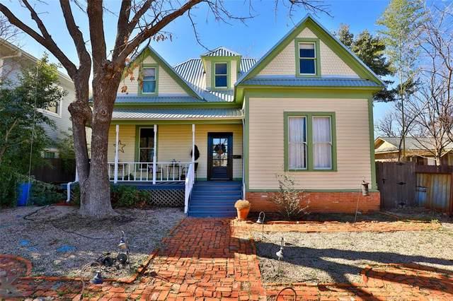 526 Mulberry Street, Abilene, TX 79601 (MLS #14486686) :: The Mauelshagen Group