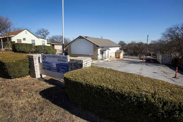 2616 Pearl Avenue, Fort Worth, TX 76164 (MLS #14487284) :: The Kimberly Davis Group