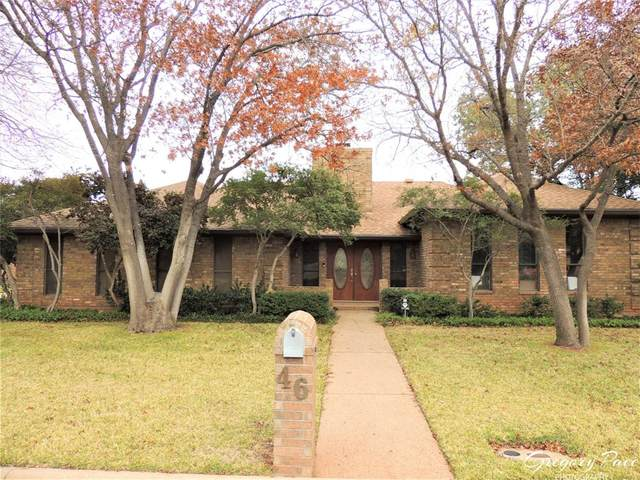 46 Augusta Drive, Abilene, TX 79606 (MLS #14488452) :: Feller Realty