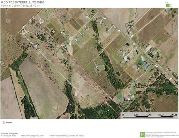 0 Co Road 250, Terrell, TX 75160 (MLS #14488824) :: The Kimberly Davis Group