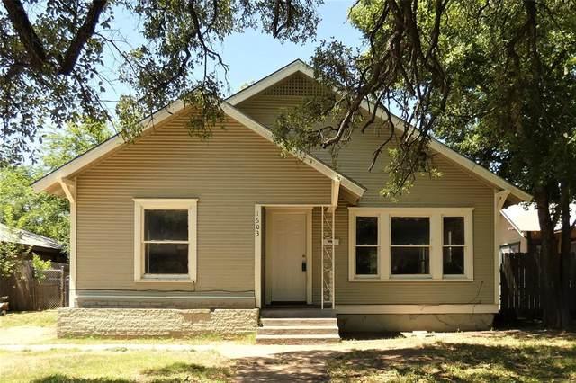 1603 Durham Avenue, Brownwood, TX 76801 (MLS #14489190) :: Keller Williams Realty