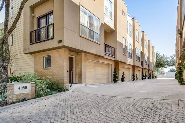 4050 Mckinney Avenue #4, Dallas, TX 75204 (MLS #14489876) :: The Kimberly Davis Group
