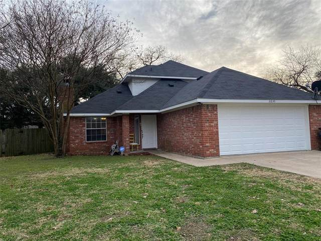 2630 Fish Tank Road, Corsicana, TX 75110 (MLS #14490010) :: The Chad Smith Team