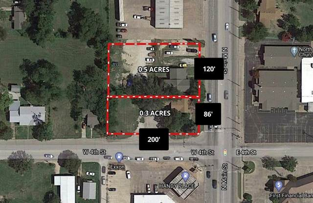 1305 N Main Street, Weatherford, TX 76086 (MLS #14490063) :: Premier Properties Group of Keller Williams Realty