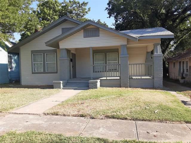 1235 Elmwood Avenue, Fort Worth, TX 76104 (MLS #14490979) :: Robbins Real Estate Group