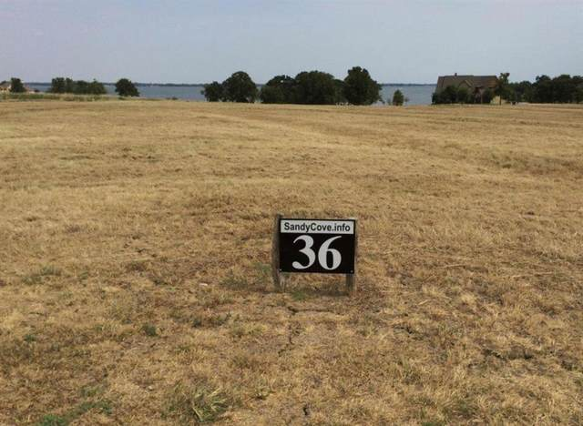 36 Sandy Cove, Streetman, TX 75859 (MLS #14491921) :: The Rhodes Team