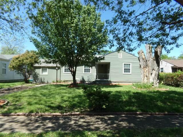 1819 Barlow Avenue, Dallas, TX 75224 (MLS #14492440) :: Team Hodnett
