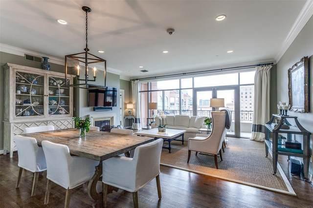 2828 Hood Street #806, Dallas, TX 75219 (MLS #14493027) :: The Hornburg Real Estate Group