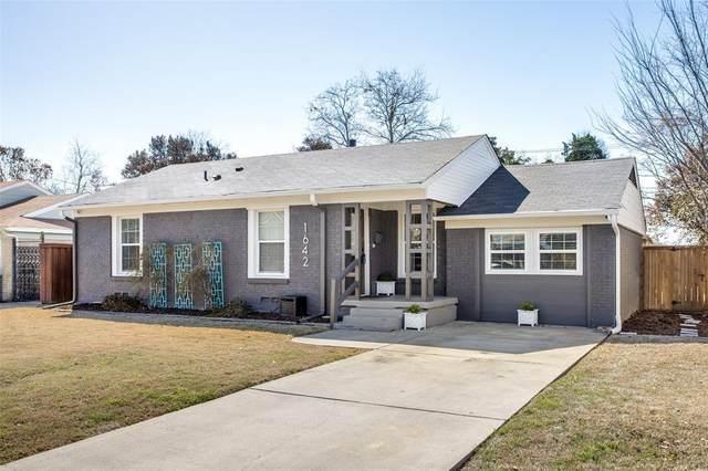 1642 Crest Ridge Drive, Dallas, TX 75228 (MLS #14493056) :: The Kimberly Davis Group