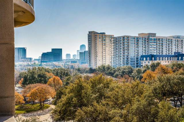 3401 Lee Parkway #603, Dallas, TX 75219 (MLS #14493186) :: The Hornburg Real Estate Group