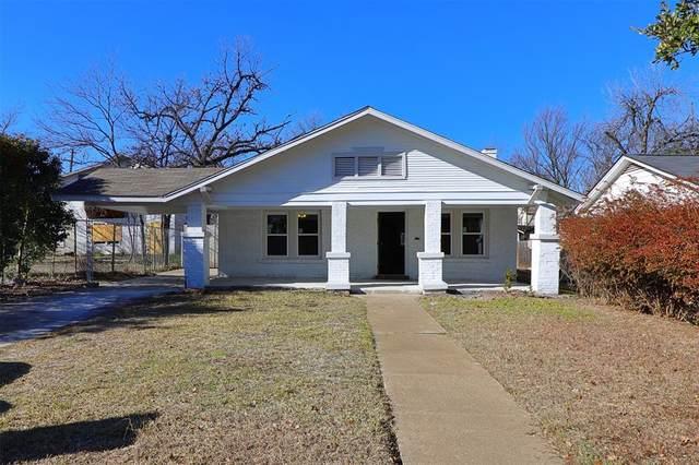 3240 Lipscomb Street, Fort Worth, TX 76110 (MLS #14493655) :: The Mauelshagen Group