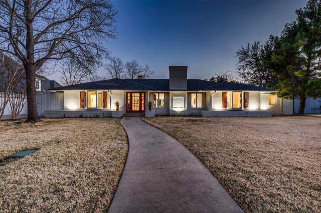 6106 Meadowcrest Drive, Dallas, TX 75230 (MLS #14494020) :: RE/MAX Pinnacle Group REALTORS