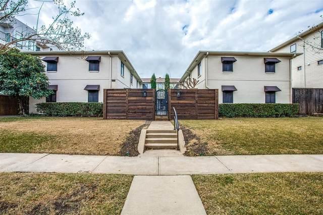 4115 Bowser Avenue #7, Dallas, TX 75219 (MLS #14494589) :: The Rhodes Team