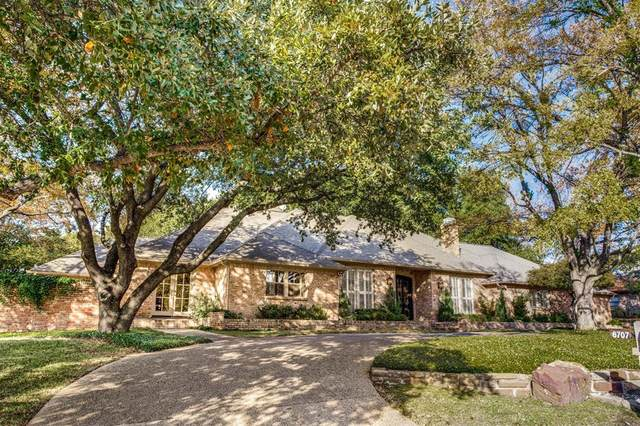 6707 Glenhurst Drive, Dallas, TX 75254 (MLS #14494772) :: The Mauelshagen Group