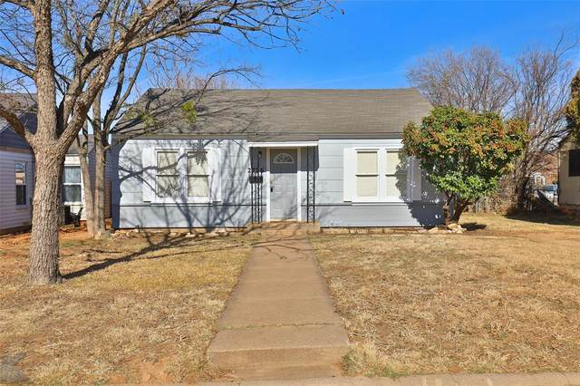 2726 S 10th Street, Abilene, TX 79605 (MLS #14495427) :: The Mauelshagen Group
