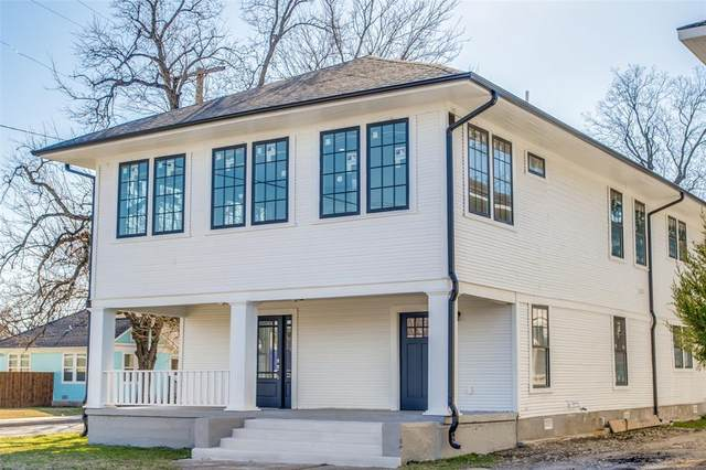 500 W 7th Street, Dallas, TX 75208 (MLS #14495504) :: The Hornburg Real Estate Group