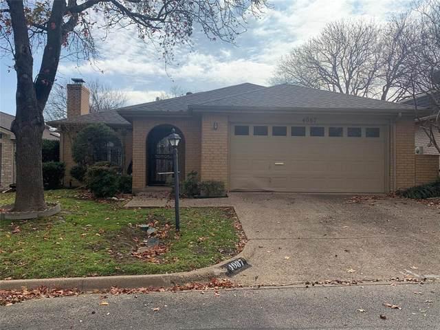 4087 Hidden View Circle, Fort Worth, TX 76109 (MLS #14495507) :: Team Hodnett