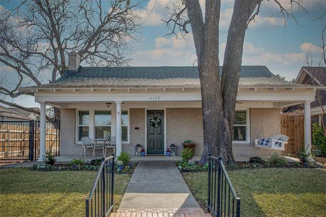 4129 El Campo Avenue, Fort Worth, TX 76107 (MLS #14495623) :: The Chad Smith Team