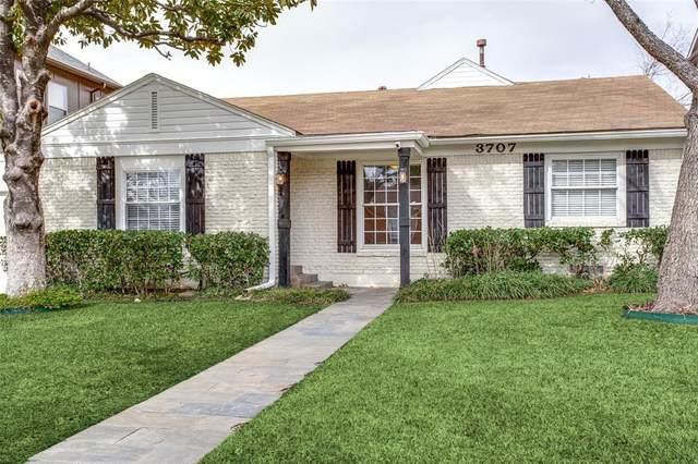 3707 N Versailles Avenue, Dallas, TX 75209 (MLS #14495917) :: The Good Home Team