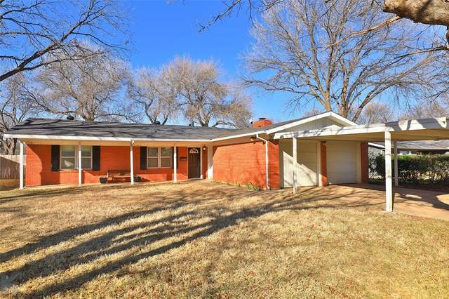 2100 Glenwood Drive, Abilene, TX 79605 (MLS #14496463) :: The Mauelshagen Group