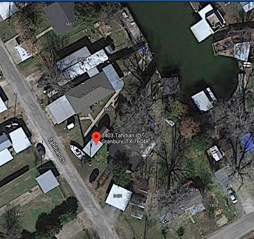 3403 Tahitian Court, Granbury, TX 76048 (MLS #14496579) :: All Cities USA Realty