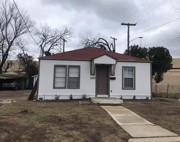 2222 Macon Street, Dallas, TX 75215 (MLS #14496792) :: The Kimberly Davis Group