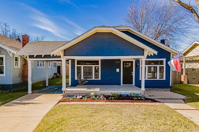 2120 Western Avenue, Fort Worth, TX 76107 (MLS #14496941) :: The Kimberly Davis Group