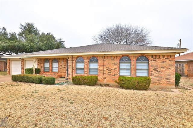 20 Stonegate Road, Abilene, TX 79606 (MLS #14497289) :: The Mauelshagen Group