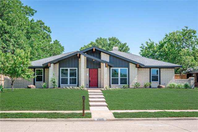 2505 Parkhaven Drive, Plano, TX 75075 (MLS #14497356) :: All Cities USA Realty