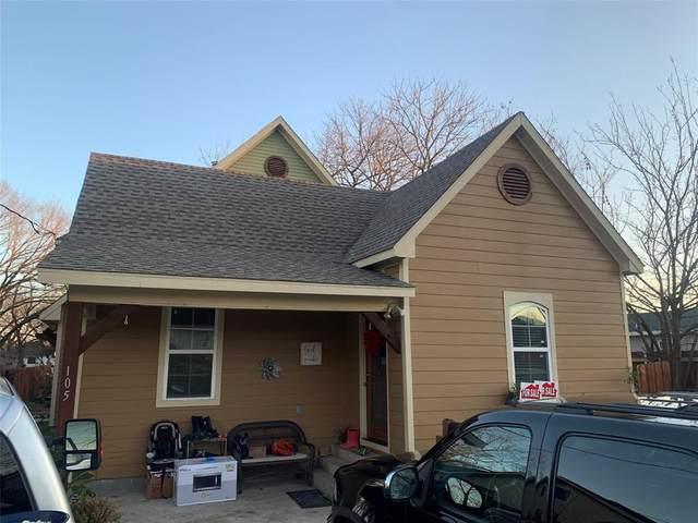 105 E Linden Street, Ennis, TX 75119 (MLS #14497472) :: The Kimberly Davis Group