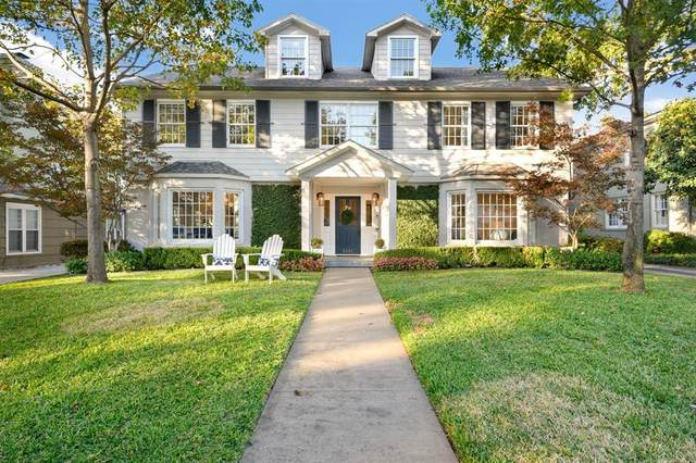 5551 Emerson Avenue, Dallas, TX 75209 (MLS #14497665) :: The Kimberly Davis Group
