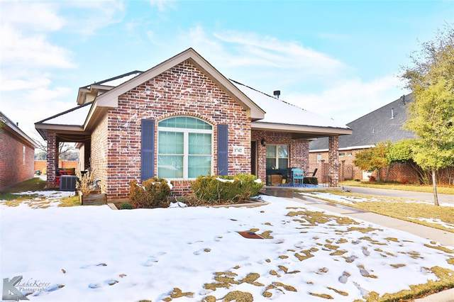 1742 Pemelton Drive, Abilene, TX 79601 (MLS #14497671) :: Maegan Brest | Keller Williams Realty