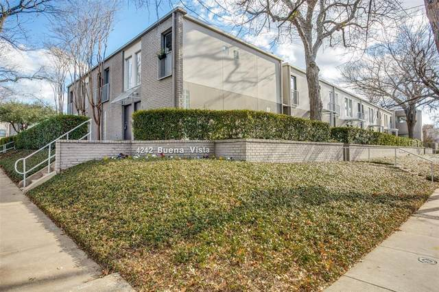 4242 Buena Vista Street #23, Dallas, TX 75205 (MLS #14497764) :: The Good Home Team