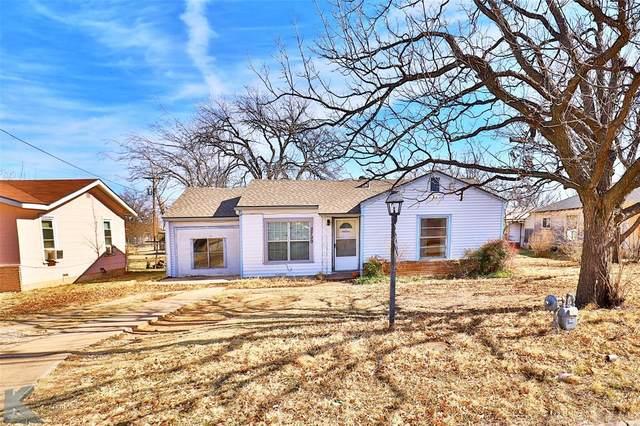 2709 Old Anson Road, Abilene, TX 79603 (MLS #14497810) :: The Mauelshagen Group