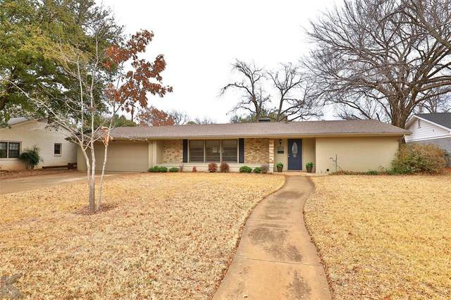 2117 Sylvan Drive, Abilene, TX 79605 (MLS #14497900) :: Maegan Brest | Keller Williams Realty