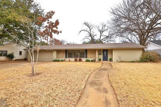 2117 Sylvan Drive, Abilene, TX 79605 (MLS #14497900) :: The Mauelshagen Group