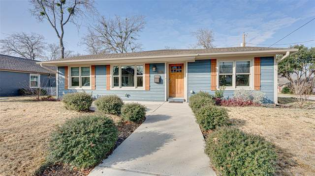 218 Austin Street, Grapevine, TX 76051 (MLS #14498108) :: The Hornburg Real Estate Group