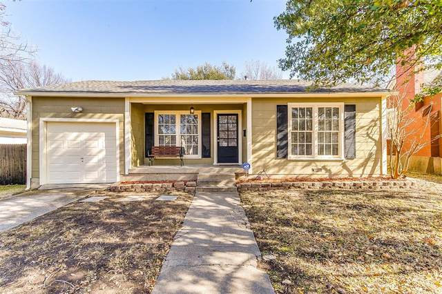 3005 Ryan Avenue, Fort Worth, TX 76110 (MLS #14498337) :: Front Real Estate Co.