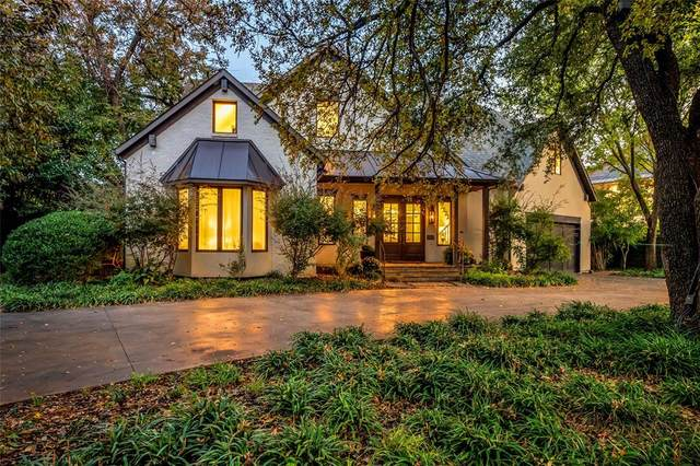 4321 N Crest Haven Road, Dallas, TX 75209 (MLS #14498343) :: The Kimberly Davis Group