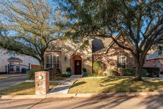 2852 Oakbriar Trail, Fort Worth, TX 76109 (MLS #14498362) :: The Mauelshagen Group