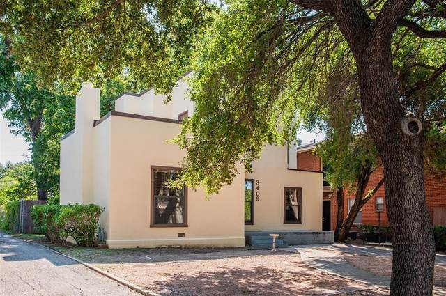 3409 S University Drive, Fort Worth, TX 76109 (MLS #14498508) :: Front Real Estate Co.