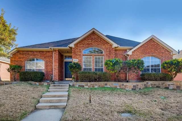 4609 Basil Drive, Mckinney, TX 75070 (MLS #14498537) :: The Kimberly Davis Group
