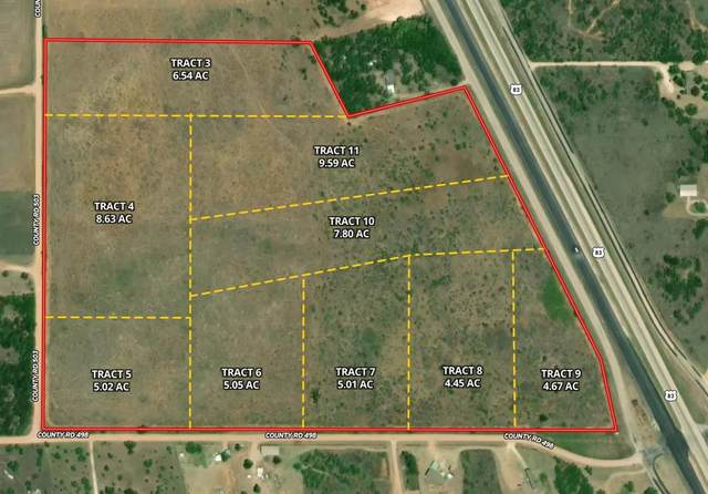 TBD County Road 498, Anson, TX 79501 (MLS #14498618) :: The Russell-Rose Team